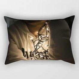 lightschristmas Rectangular Pillow