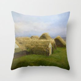 Iceland Simpler times 2 Throw Pillow