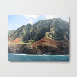 Waimea Canyon, Kauai, Hawaii Metal Print