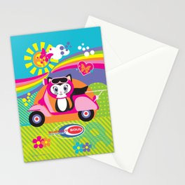 Baby Scoot ( Girls ) Stationery Cards