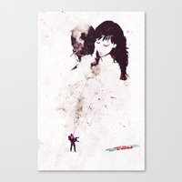 the shining Canvas Prints featuring Shining by  Maʁϟ