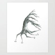 how peculiar Art Print