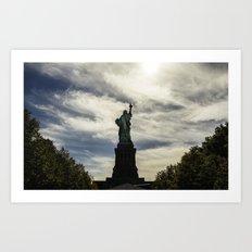 Statue of Liberty 6. Art Print