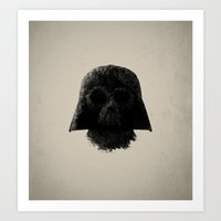 vader Art Prints featuring Vader by Zach Terrell