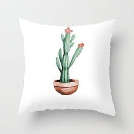 Cactus 01 Throw Pillow