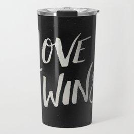 LOVE WINS Travel Mug