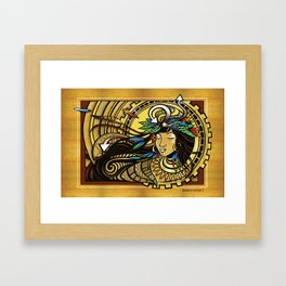 The Wind Gourd of La'amaomao ~ Urban Indigenous Version Framed Art Print