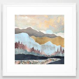 Winter Light Framed Art Print