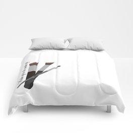 Wake up to do make up Comforters