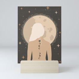 Moon Girl Mini Art Print
