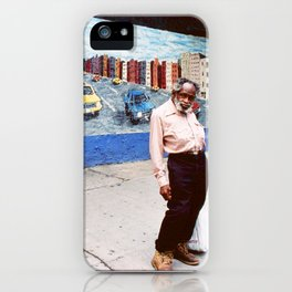 """Man in the Corner (From series """" Life is a Street """") iPhone Case"""