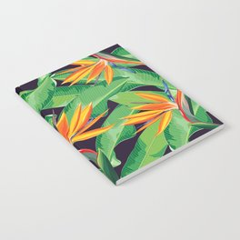 Bird of paradise flower Notebook