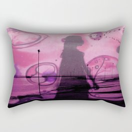 P I N K Rectangular Pillow