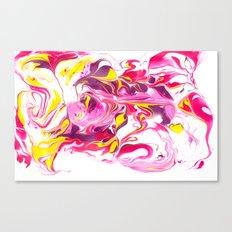 Marbling #6 Canvas Print