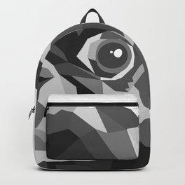 Pug Geometric art Black pugs Dog portrait Pet Backpack
