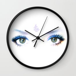 if only you could see me Wall Clock