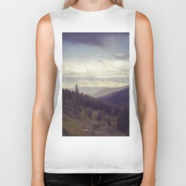 Above The Mountains Biker Tank