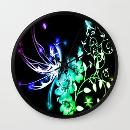 Fairy Land Wall Clock