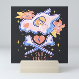 Sad Bones Mini Art Print
