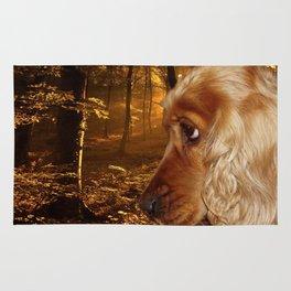 Dog Cocker Spaniel Rug