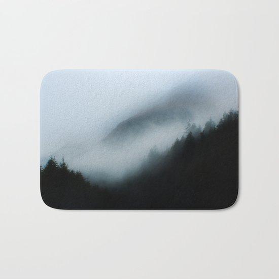 Foggy British Columbia Bath Mat