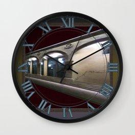 Imaginary Corridors Wall Clock