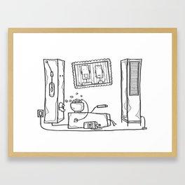 robot schmobot Framed Art Print