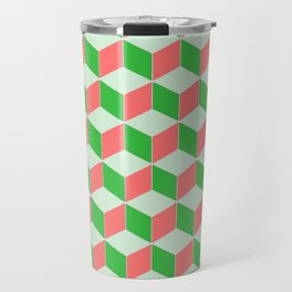 Christmas Escher Print Travel Mug