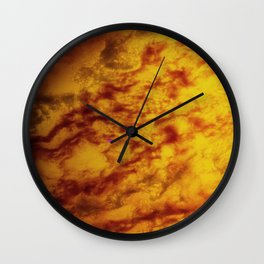 Marble Glass Photography Wall Clock