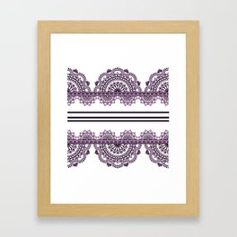 Border Framed Art Print