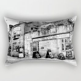 The Anchor Pub London Art Rectangular Pillow