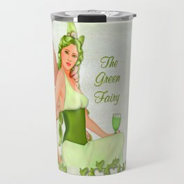Absinthe the Green Fairy Travel Mug