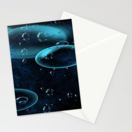 Deepsea Bubbles Stationery Cards