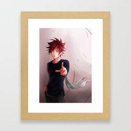 How About a Match? Framed Art Print