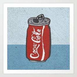 COKE 4EVR Art Print