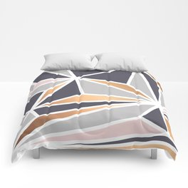 Geometry Gold 047 Comforters