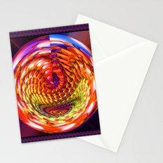 Framed glass spiral Stationery Cards