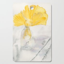 Ginkgo and Marble Cutting Board