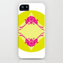 Twins In Pink iPhone Case