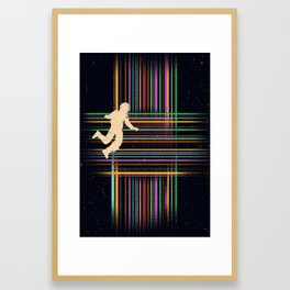 The Tesseract Framed Art Print