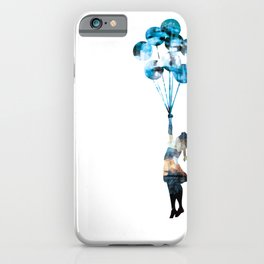 Banksy Balloon Girl iPhone Case
