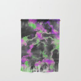 Green and purple sky Wall Hanging