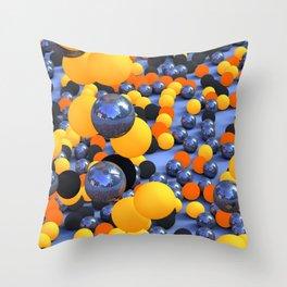 Bubblish Throw Pillow