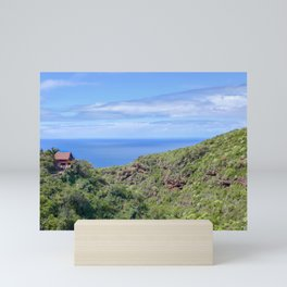 Little House on La Palma Mini Art Print