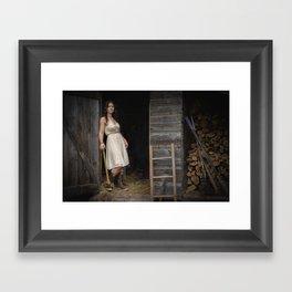 Sally's Axe Framed Art Print