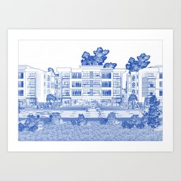 Architectural blueprint art prints society6 malvernweather Images