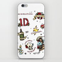 kendrawcandraw iPhone & iPod Skins featuring Tattoo You by kendrawcandraw