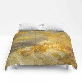 """J.M.W. Turner """"A Disaster at Sea"""" Comforters"""