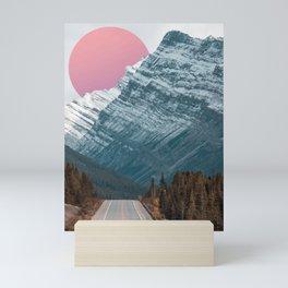 COLD MOUNTAIN SUN MAGICAL DREAMSCAPE Mini Art Print