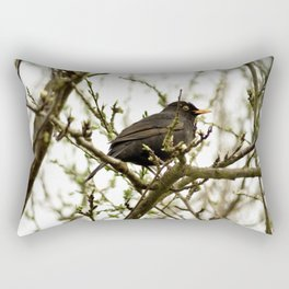 In the lookout Rectangular Pillow